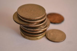 logam koin, uang tunai, ekonomi, tembaga