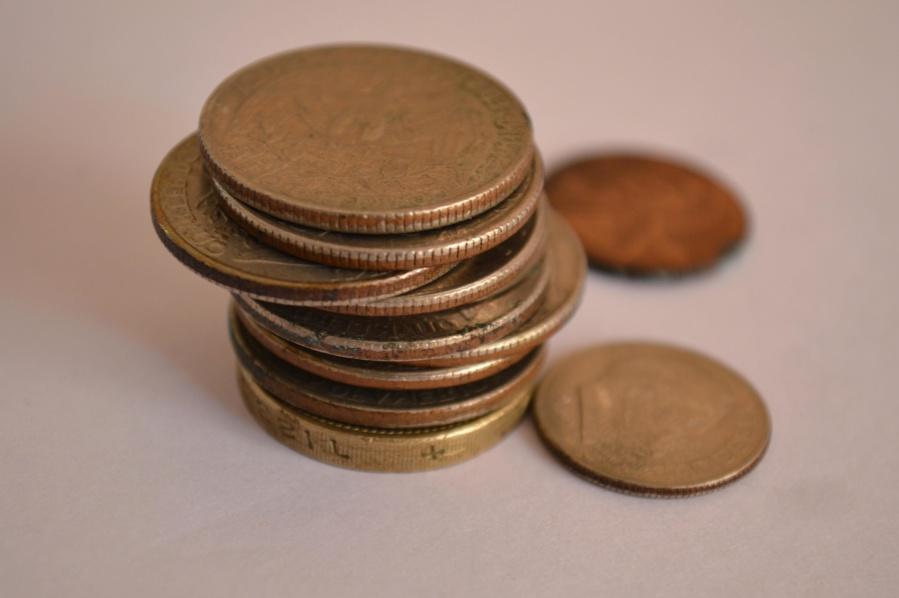 metal coin, cash, economy, copper