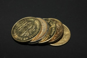 metal coin, India, money, metal, gold, cash