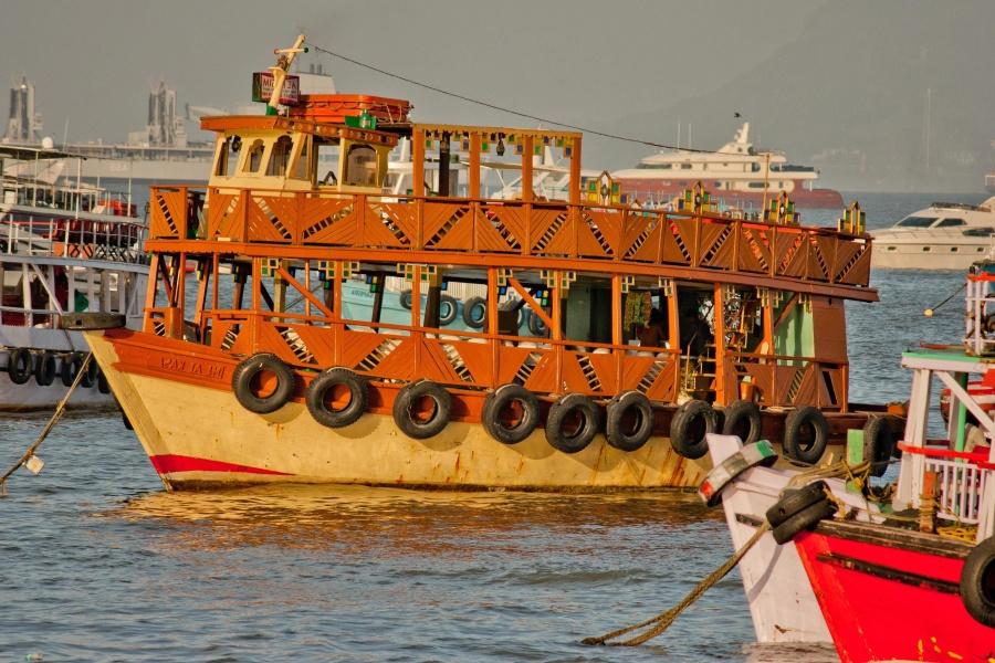 Fährschiff, alt, Boot, Reise, Tourismus