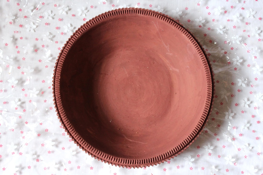 dish, ceramica, brown, object
