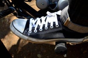 sapata do esporte, preto, cadarço, calçado, motocicleta