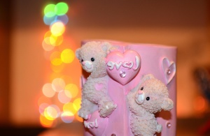 teddy bear, love, toy, ceramics