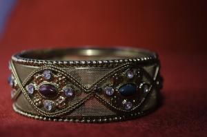 Pierres précieuses, bracelet, bijoux, briliant, or, bijoux, diamants