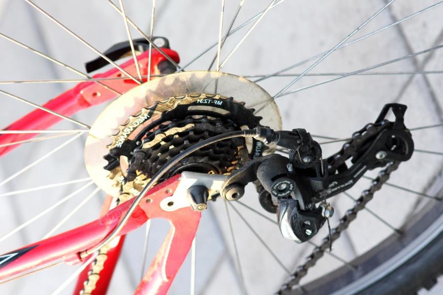 จักรยานเสือภูเขา โซ่ จักรยาน เบรค อุปกรณ์ เหล็ก โลหะเกียร์
