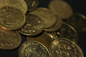 money, India, metal coins, gold, economy, cash