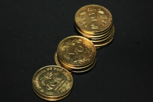 metal coin, gold, money, cash