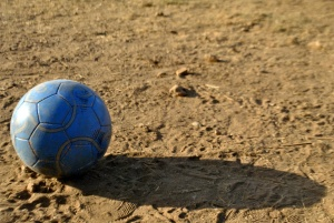 football, soccer ball, sport, blue, shadow, ground