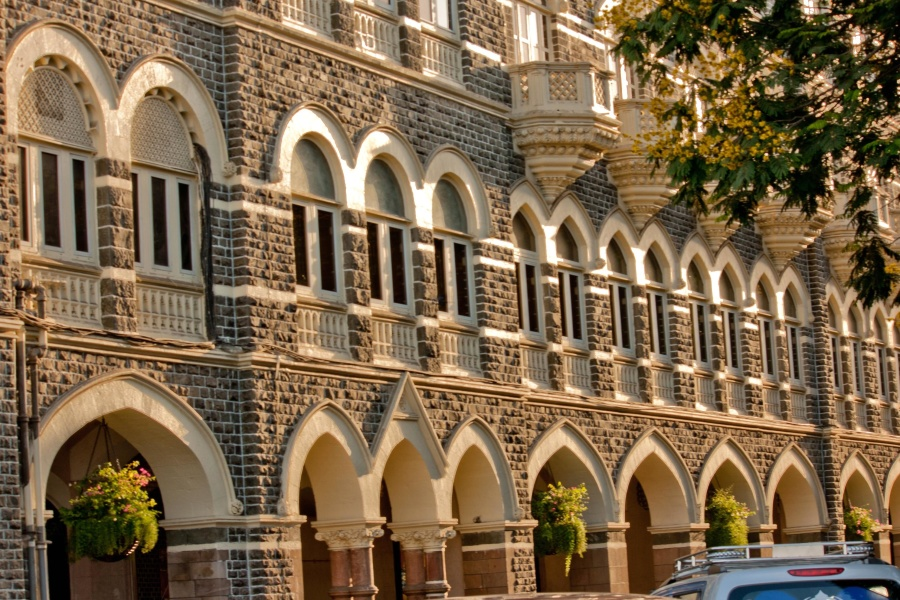 building, exterior, decoration, hotel, India