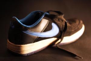 Sportschuh, Mode, modern, Schatten, Schuhe, Schuh, Leder