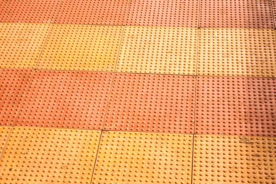 tile, plastic, texture, orange color, yellow, floor