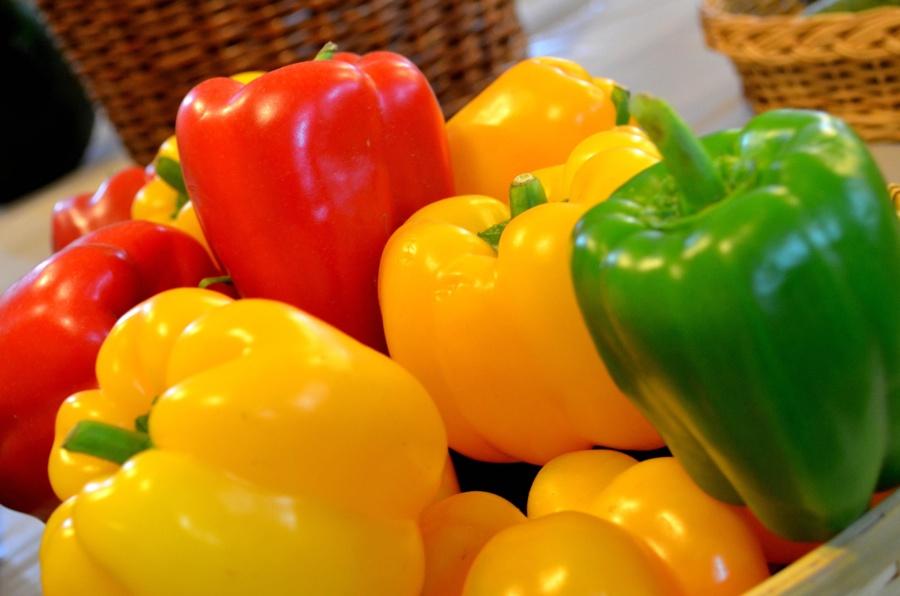 paprika, grønnsaker, mat, kosthold