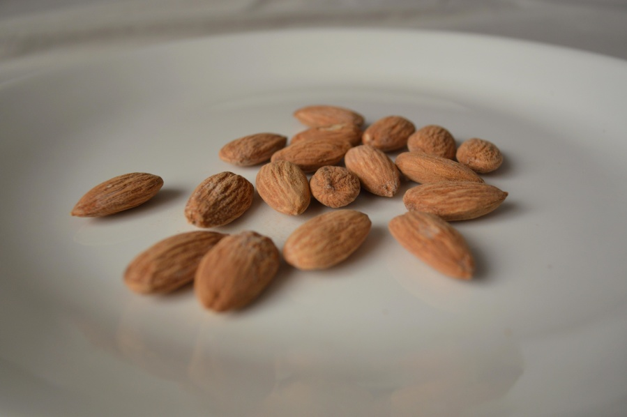 almond, seed, diet, food