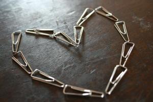 心、安全ピン、オブジェクト、鋼、装飾