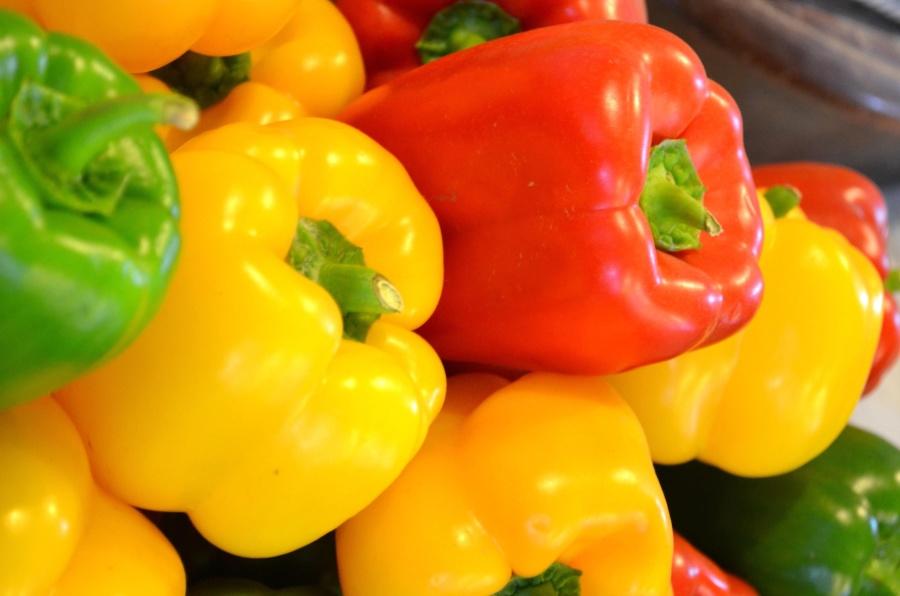 bell pepper, capsicum, pepper, vegetable