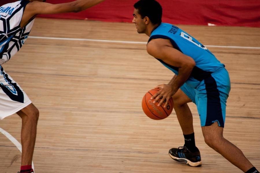 Baloncesto, cancha de baloncesto, pelota, equipo, deporte