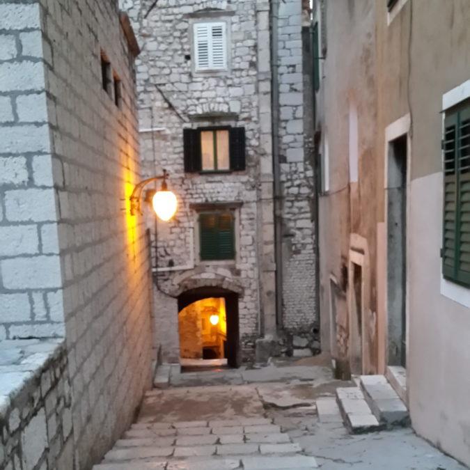mimari, street, taş, fener