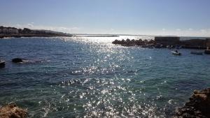 Océano, mar, costa, playa, agua, orilla, paisaje, costa, cielo