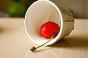 cherry, mug, ceramic, fruit, food, pottery, sweet