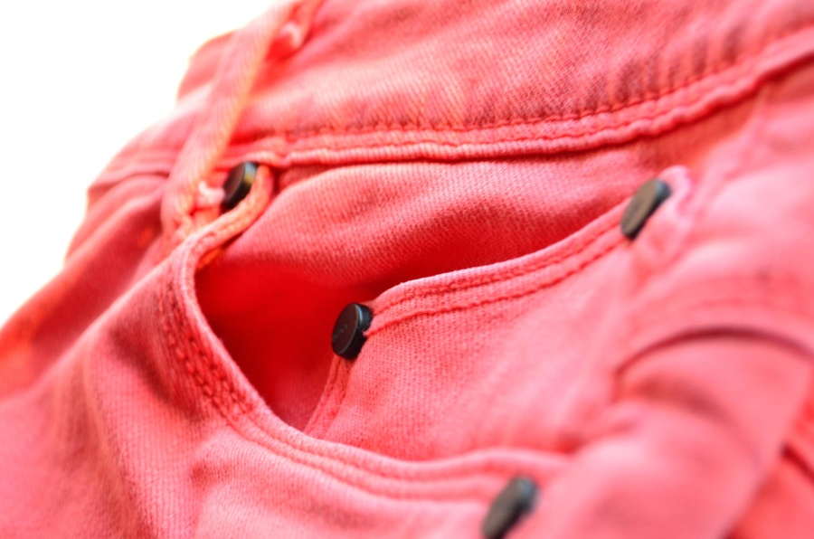 red, textile, material, macro, fashion, jeans pants