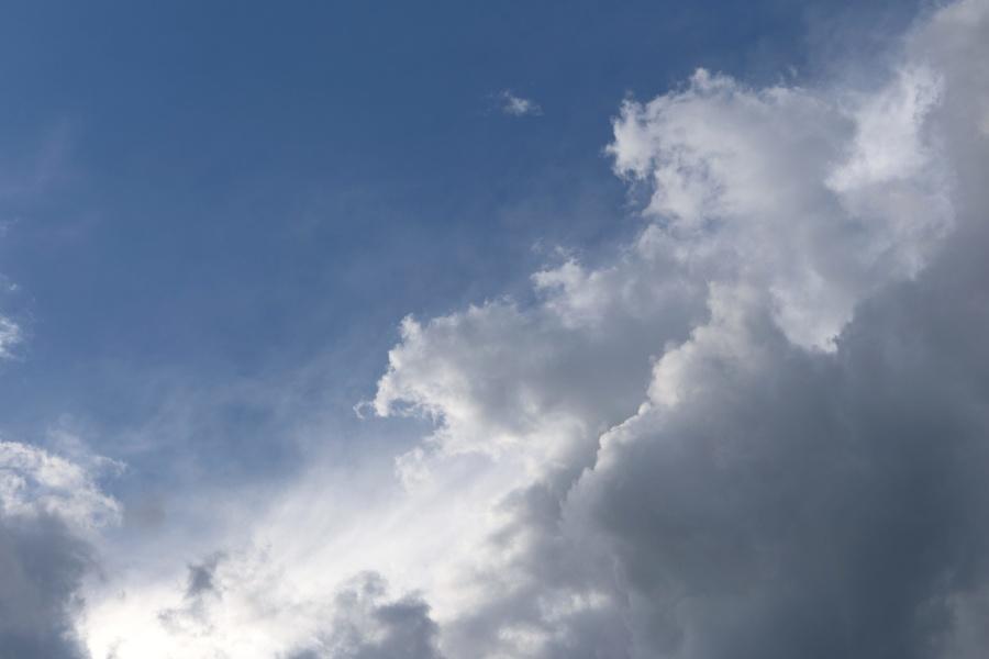 Ciel bleu, nature, ciel, nuage