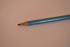 lead pencil, object, blue, pencil