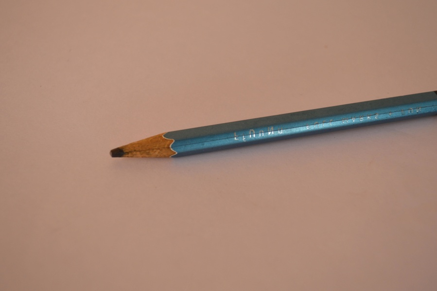 lead pencil, object, blue, pencil