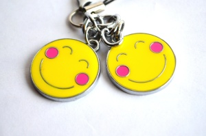 pendant, steel, object, smile, toy, colorful
