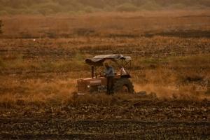 Traktor, landwirtschaft, maschine, feld, fahrzeug
