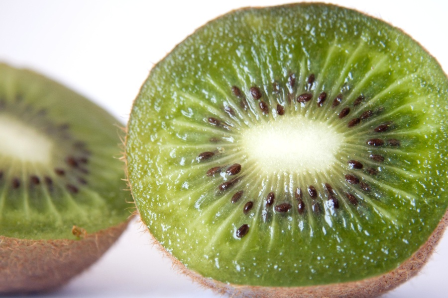 fruit, kiwi, seed, green, kiwi