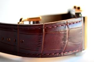 armbandsur, objekt, läder, design