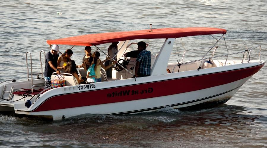 motor boat, people, boat, journey, crowd, tourism, ocean
