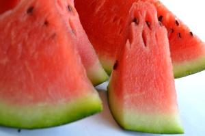 lubenica, voće, makronaredbe, hrana, crveno, slatko