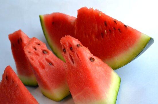 watermelon, diet, food, red