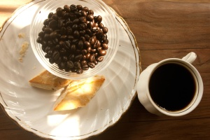 coffee bean, bowl, coffee, breakfast
