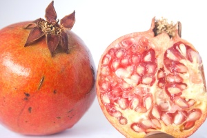 pomegranate, fruit, food, seed