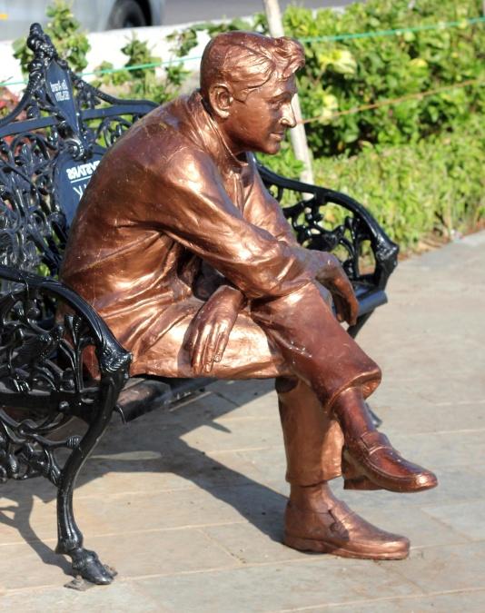 statue, art, bronze, sculpture, statuary, metal