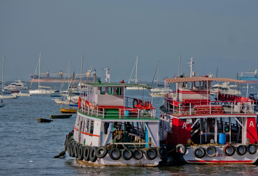 boat, tourist attraction, colorful, ship, boat, tugboat, sea
