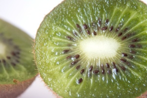 kiwi, fruit, gree, seed, macro, exotic