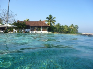 Hotel, svømmehal, havet, turisme, vand, sommer