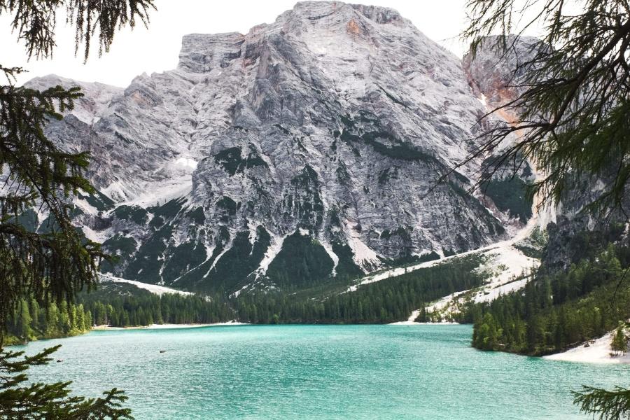 beautiful, lake, nature, mountain, national park