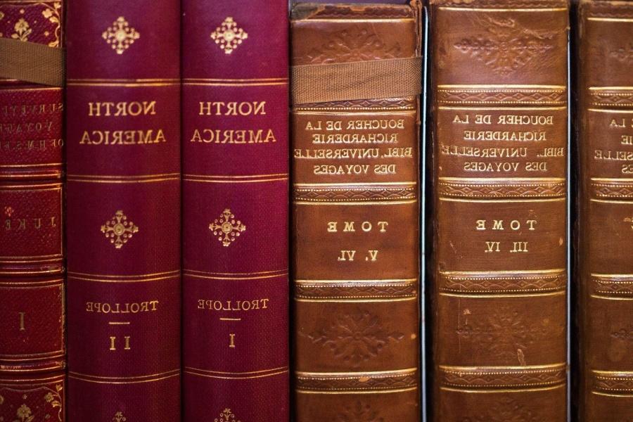 Antico, libro, vecchio, libreria