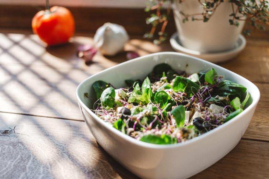 salad, bowl, food, bowl, meal, lunch, vegetable, appetizer