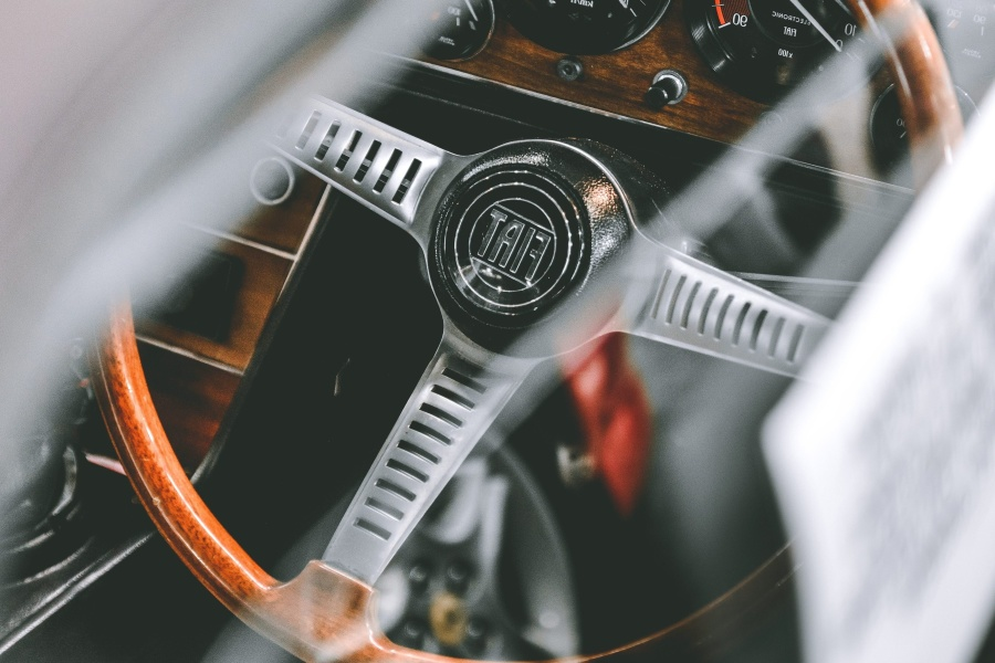 car, interior, oldtimer, classic, steering wheel
