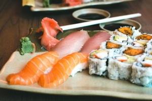 sushi, food, seafood, food, salmon, meat