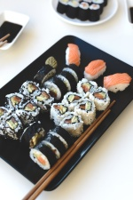 homemade, sushi, food, seafood, diet
