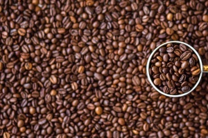 coffee bean, coffe cup, mug, seed, detail, aroma