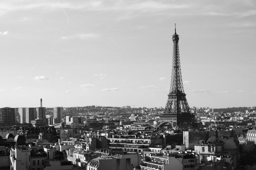 stad, toren, capitol, centrum, landmark, Parijs, architectuur