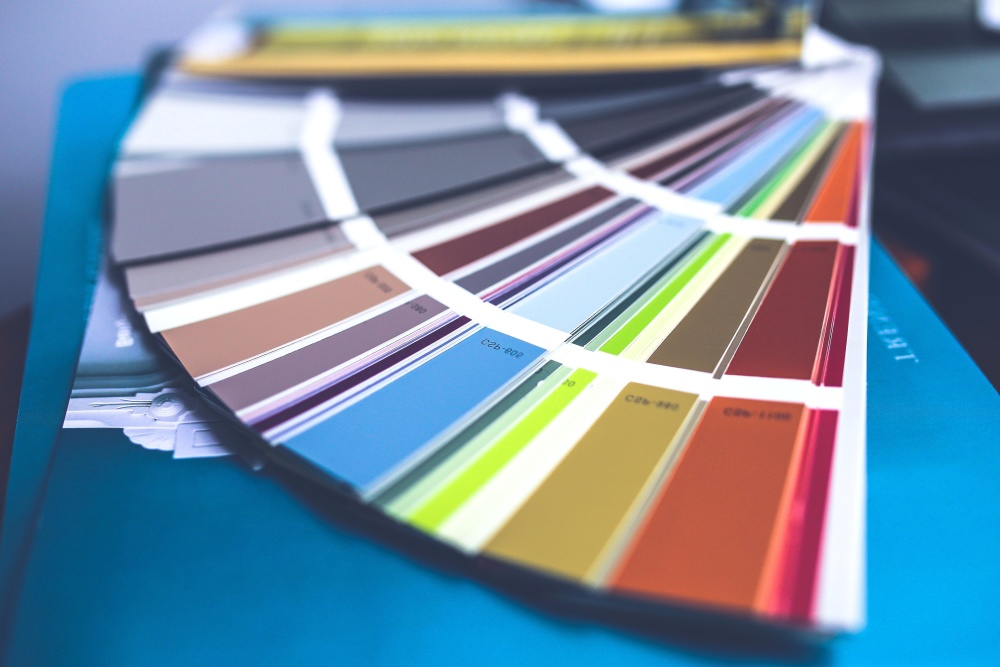 color palette, design, colorful