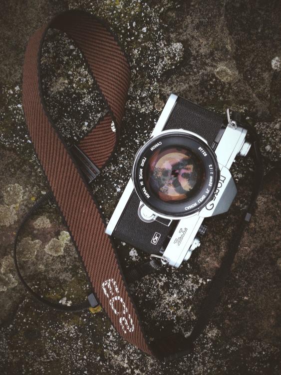 retro, old, antique, photo camera